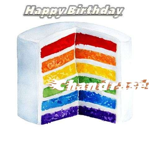 Happy Birthday Chandrasekhar Cake Image
