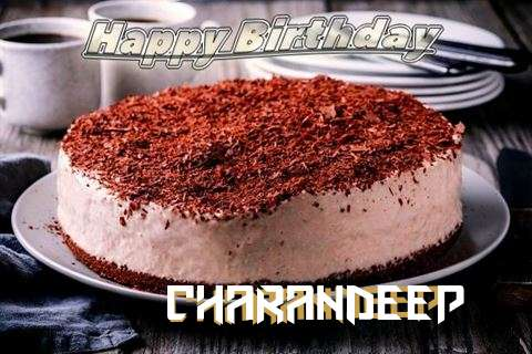 Happy Birthday Cake for Charandeep