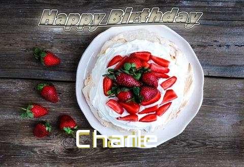 Happy Birthday Charle Cake Image
