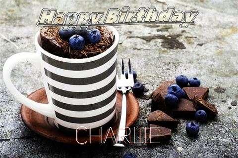Happy Birthday Charlie Cake Image