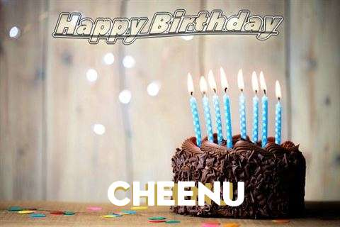 Happy Birthday Cheenu