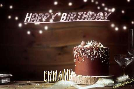 Happy Birthday Cake for Chhamo