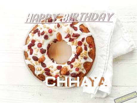 Happy Birthday Wishes for Chhaya