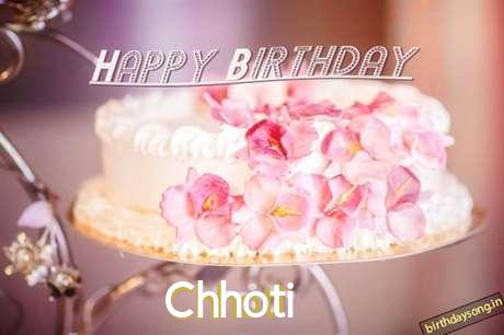 Happy Birthday Wishes for Chhoti