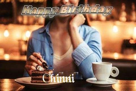 Happy Birthday Cake for Chinni