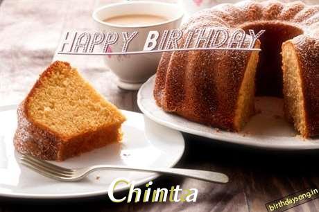 Happy Birthday to You Chinta