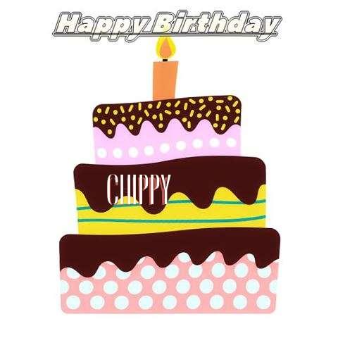 Chippy Birthday Celebration