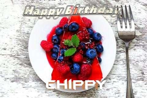 Happy Birthday Cake for Chippy