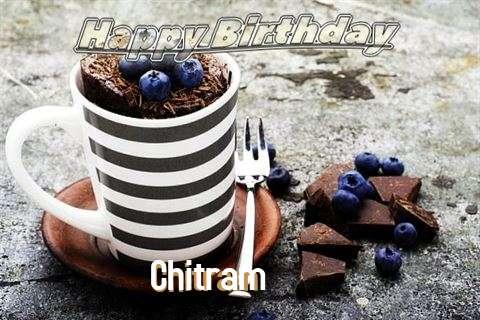 Happy Birthday Chitram Cake Image