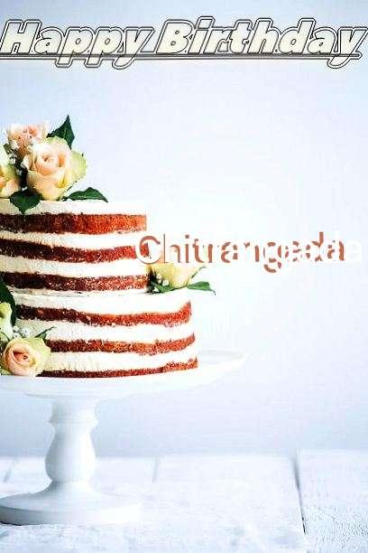 Happy Birthday Chitrangada Cake Image