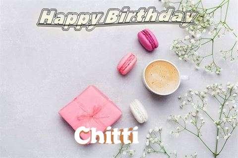 Happy Birthday Chitti Cake Image