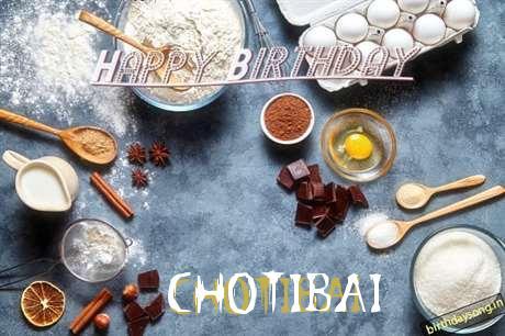 Birthday Wishes with Images of Chotibai