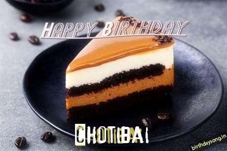 Chotibai Cakes