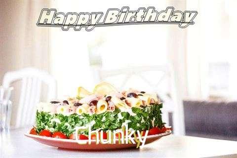 Happy Birthday to You Chunky