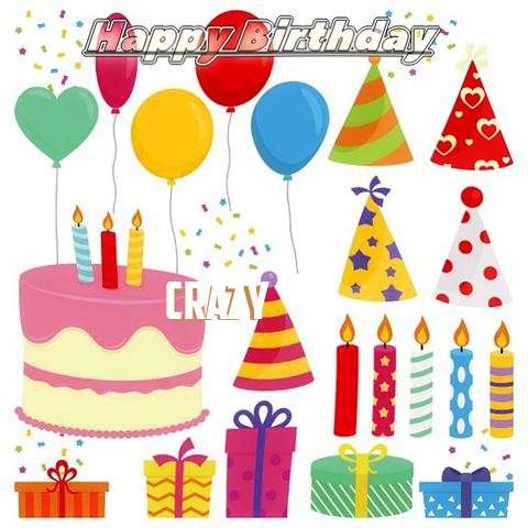 Happy Birthday Wishes for Crazy