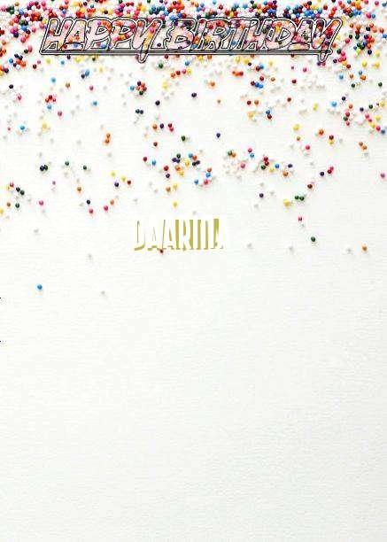 Happy Birthday Daarina