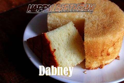 Happy Birthday to You Dabney