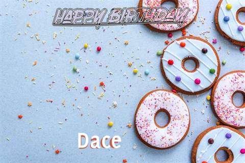 Happy Birthday Dace Cake Image