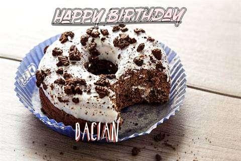 Happy Birthday Dacian