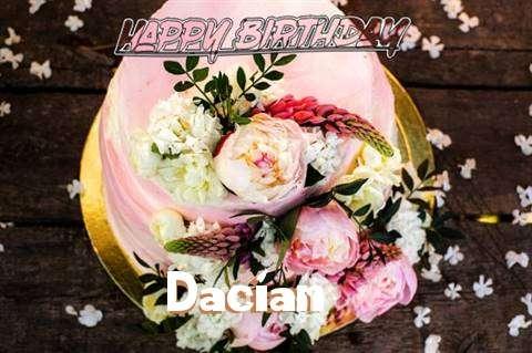 Dacian Birthday Celebration