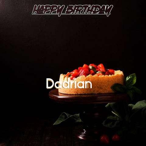 Dadrian Birthday Celebration