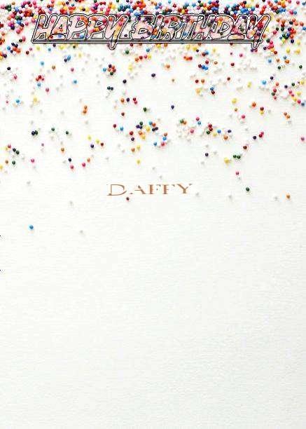 Happy Birthday Daffy
