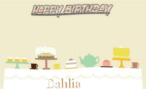 Dahlia Cakes