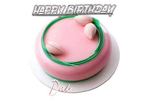 Happy Birthday Cake for Dai