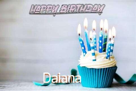 Happy Birthday Daiana Cake Image