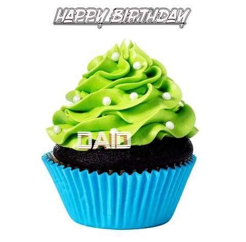 Happy Birthday Daid