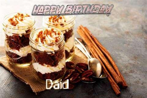 Daid Birthday Celebration