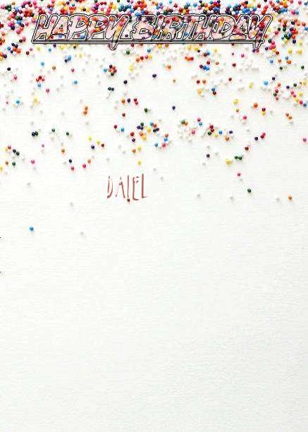 Happy Birthday Daiel