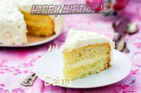 Happy Birthday to You Daina