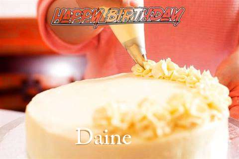 Happy Birthday Wishes for Daine