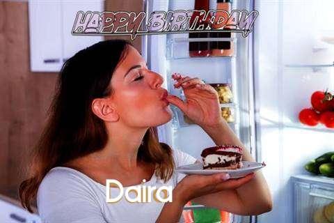 Happy Birthday to You Daira