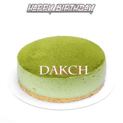 Happy Birthday Cake for Dakch