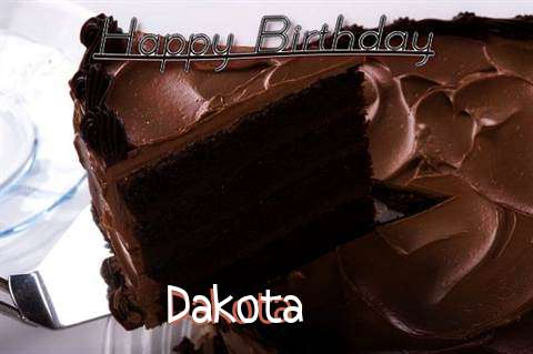 Birthday Wishes with Images of Dakota