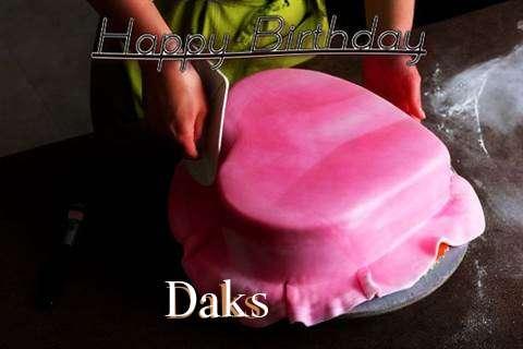 Happy Birthday Cake for Daks