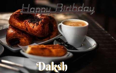 Happy Birthday Daksh Cake Image
