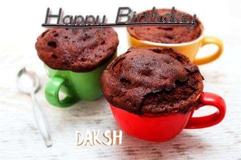 Birthday Images for Daksh