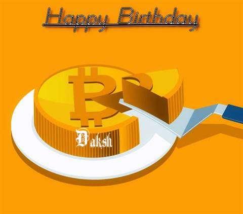 Happy Birthday Wishes for Daksh