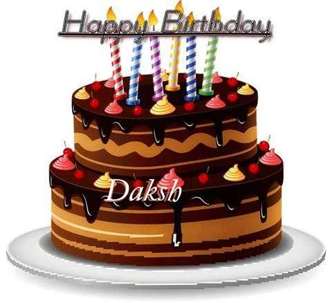 Happy Birthday to You Daksh