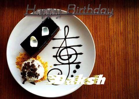 Happy Birthday Cake for Daksh
