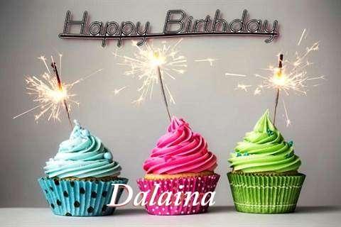 Birthday Wishes with Images of Dalaina