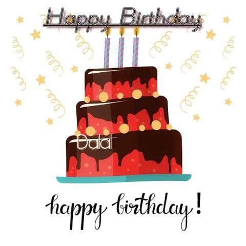Happy Birthday Cake for Dalal