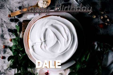 Happy Birthday Dale Cake Image