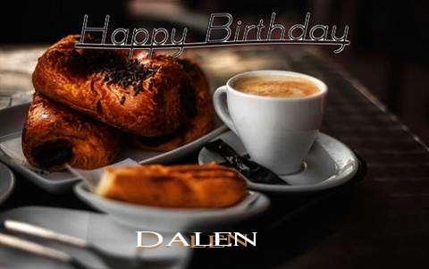 Happy Birthday Dalen Cake Image