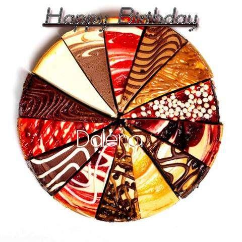 Happy Birthday to You Dalena