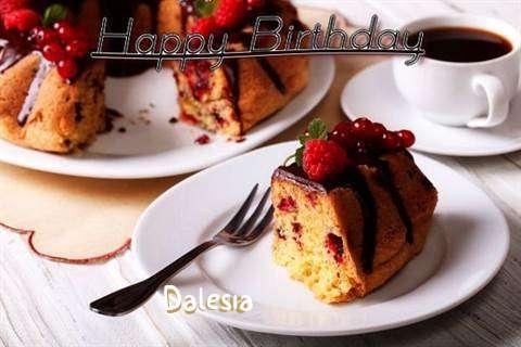 Happy Birthday to You Dalesia