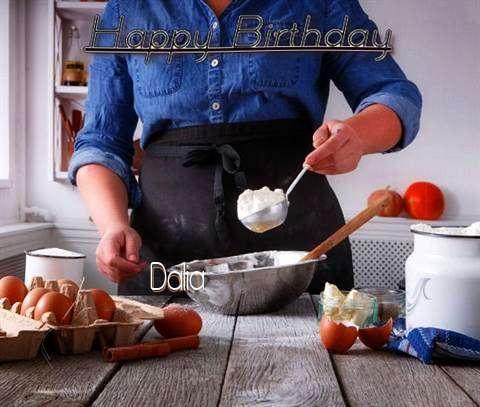Happy Birthday to You Dalia